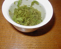 Buddhist Green in a Gaiwan